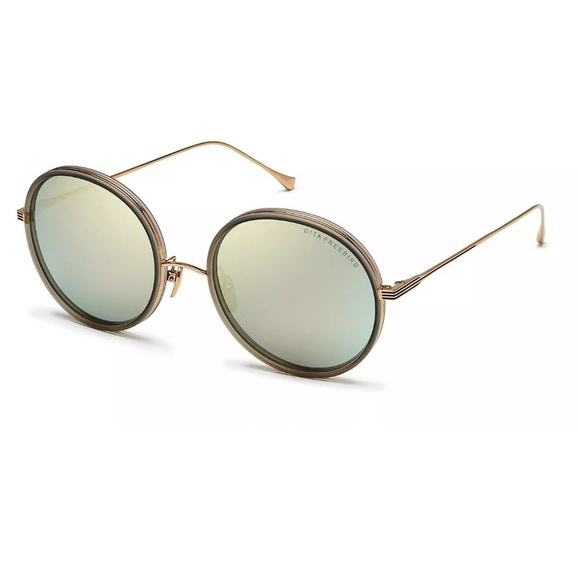 3ff363a18b65 Dita Freebird E Grey Gold Mirror 18k Sunglasses